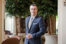 Dubai, United Arab Emirates, Mar 10, 2014 - Olivier Chavy, CEO, Wilson Associates, pose for a portrait at Royal Mirage Hotel. ( Jaime Puebla / The National Newspaper ) NO MERCHANDISING / DISTRIBUTION. PERSONAL USE ONLY. COPYRIGHT OF ABU DHABI MEDIA.