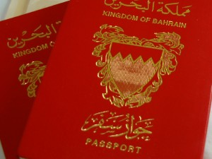 Bahraini passport