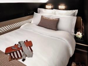 Bedroom in The Residence onboard Etihad Airways' A380 (468x640)