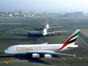 Emirates-A380 image
