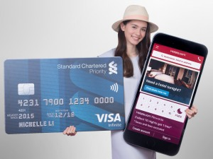 Hotels.com and Standard Chartered