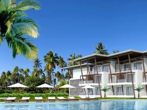 AVANI Bel-Ombre Mauritius Resort - pool and villas view rendering