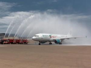 Jazeera Airways first flight to Baku