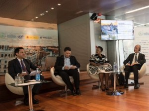 RAKTDA CEO Haitham Mattar spoke at a UNWTO round table on Sustainable Urban Tourism in Madrid