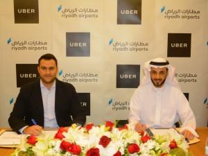 Uber signing image