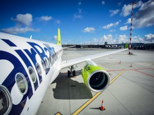 Air baltic aircraft