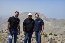 RAKTDA CEO Haitham Mattar and Toro Verde CEO Jorge Jorge and COO Ricardo...