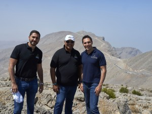 RAKTDA CEO Haitham Mattar and Toro Verde CEO Jorge Jorge and COO Ricardo...
