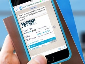 Whatsapp & KLM Boarding Pass