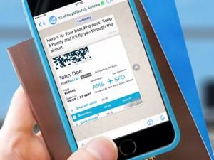 Whatsapp & KLM Boarding Pass