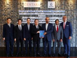 Centara and Nakheel Executives