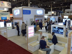 The Dubai stand at IMEX America 2