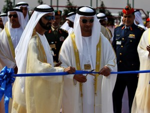 Rulers at the opening