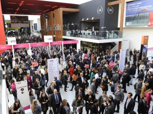 World Travel Market 2017, ExCeL London - Busy first morning