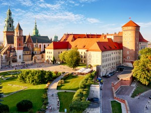 Krakow - Wawel castle at day, Poland