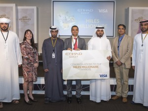 Miles Millionaires Winners - Etihad Guest