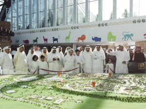 UAE Dignitaries at Dubai Safari (1)