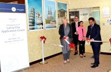 Latvia Visa centre opening