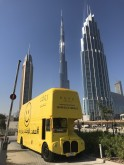 Rove Hotels are taking over the UAE with the _Roving Bus of Happiness_ to celebrate the official United Nation's #InternationalDayofHappiness on 20 March 2018