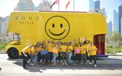 Rove Hotels invites the UAE to celebrate International Day of Happiness with _Roving Bus of Happiness_