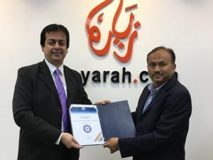 Zeeyarah NDC certificate