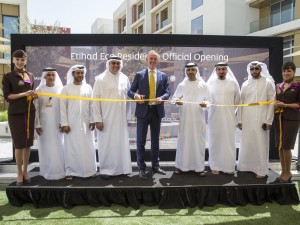 OFFICIAL INAUGURATION - ETIHAD ECO RESIDENCE EXECUTIVE LEADERSHIP ETIHAD...