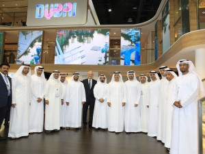 Representatives of Dubai Cruise Committee