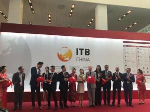 ITB China ribbon cutting image