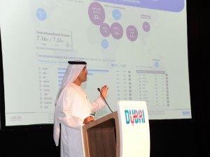 Dubai Tourism DG addresses the City Briefing audience