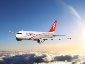 Air Arabia airplane-above-clouds