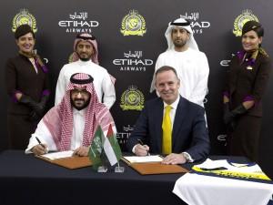 Etihad signs with Saudi FC