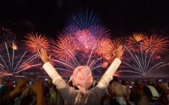 Fireworks in Abu Dhabi