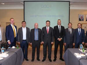 The CEO's of 8 Arab airlines, members of the committee