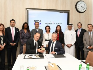 John Iossifidis, CEO Noor Bank, and Joe Silva, COO of Jumeriah Group