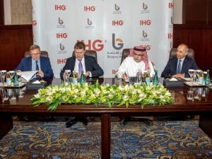 Crowne Plaza Signing Makkah