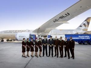 Ethihad biofuel flight