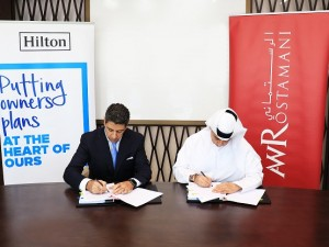 Hilton and AW Rostamani Group to develop 458 room hotel in historic Bur Dubai (1)