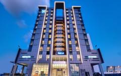 The S Hotel Al Barsha_Hotel Front View- Night