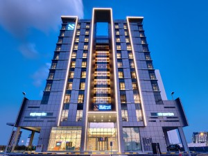 The S Hotel Al Barsha_Hotel Front View- Night