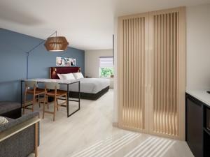 Atwell Suites_King Suite Door View
