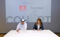 Emirates signing ceremony