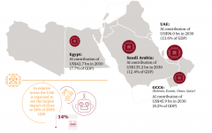 KSA, UAE, Egypt will gain the most from AI