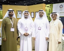 Mr Nayef Al Moosa, Mr Mohammad Khoori, HE Khalid Al Midfa (Photo - AETOSWire)_1556542045