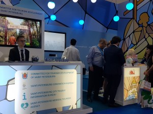 St Petersburg Stand at Arabian Travel Market 2019