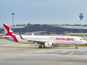 Air Arabia lands at Kuala Lumpur International Airport