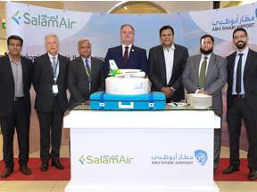 Salam Air ceremony JPG