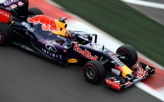 Daniil Kvyat (RUS) Red Bull Racing RB11 at Formula One World Championship, Rd15, Russian Grand Prix, Qualifying, Sochi Autodrom, Sochi, Krasnodar Krai, Russia, Saturday 10 October 2015.