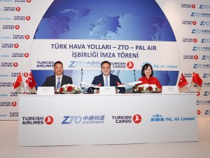 Turkish Airlines Cargo Has Inked A Partnership Agreement With ZTO And Pal Air According To The New Joint Venture Will Be Established